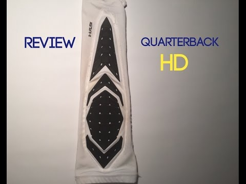 62bffb1c5 UNDER ARMOUR PADDED SLEEVE REVIEW || Quarterback HD - YouTube