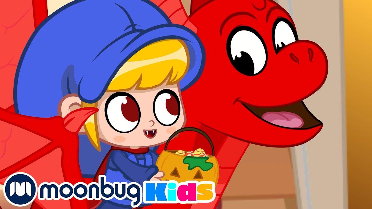 Scary Halloween Monsters' Candy Game - @Morphle TV | Kids Cartoons & Nursery Rhymes | Moonbug Kids