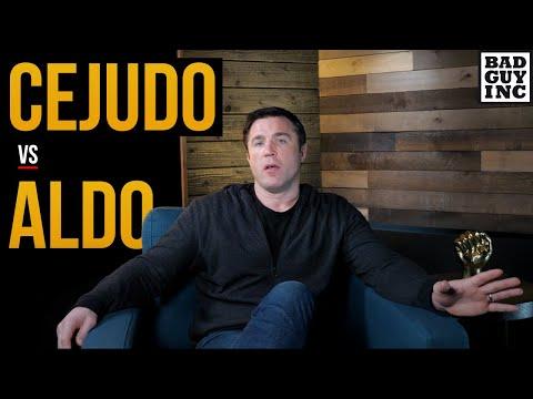 I have no problem with Henry Cejudo vs Jose Aldo...