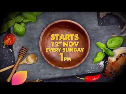 Rasoi Ki Jung: Starts 12th Nov, Every Sunday 1pm