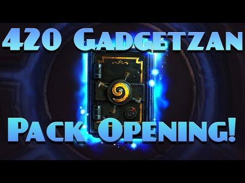 Amazs 420 Gadgetzan Pack Opening!