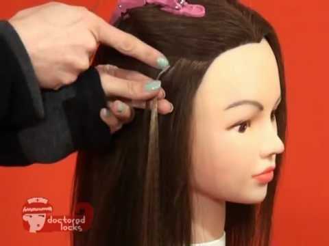 How to install tipped hair extensions with shrinkies youtube how to install tipped hair extensions with shrinkies pmusecretfo Choice Image