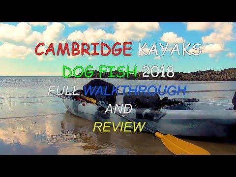Cambridge Kayak Dog Fish fishing Kayak full Honest review and walkthrough