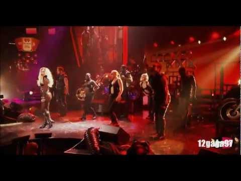 Lady Gaga - Judas (DJ White Shadow Remix) LIVE HD