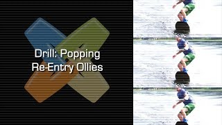 Drill Popping Re-Entries