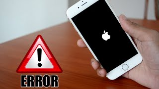 FIX : IPHONE NOT TURNING ON/STUCK IN BOOT LOOP/FORGOT PASSCODE  - iOS 11 and below ALL IPHONE ERRORS