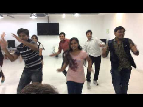 IBM Hyderabad Flashmob Performance