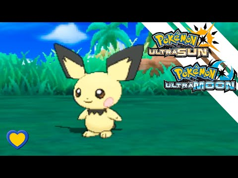 HOW TO GET Pichu in Pokemon Ultra Sun and Moon