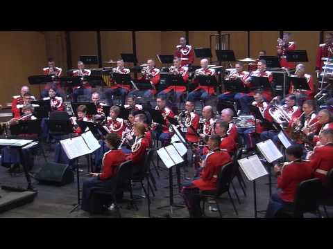 """PONCHIELLI Dance of the Hours (trans. Morino) - """"The President's Own"""" U.S. Marine Band"""