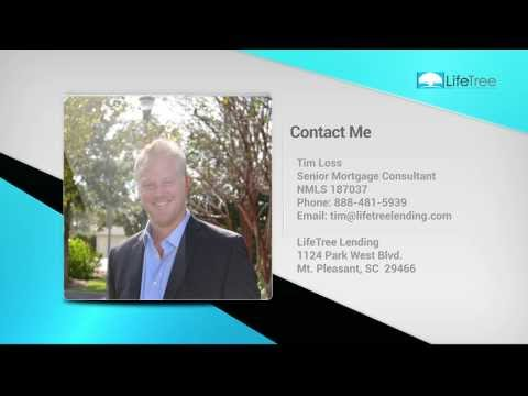 Top Mt. Pleasant SC Mortgage Lender - Call Tim Loss, FREE Pre-Approval, 888-481-5939