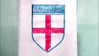 How To Draw The British England Football Team Logo