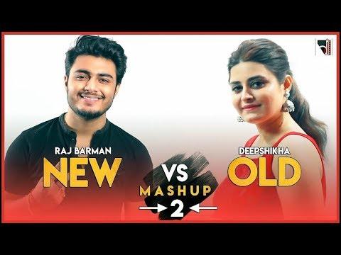 New Vs Old Mashup 2 | 20 songs on 1 beat | Deepshikha Raina & Raj Barman