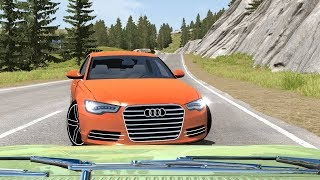 Dash Cam Crash Compilation 24 [Real Life Sounds] - BeamNG. Drive