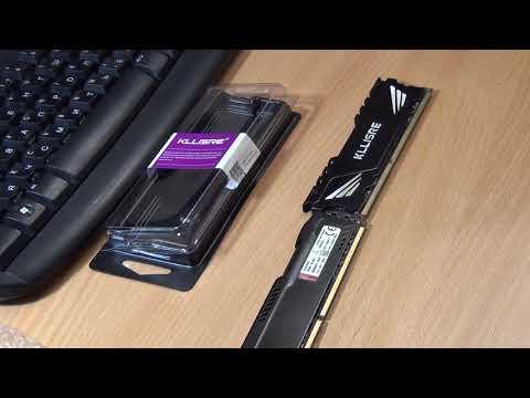 обзор памяти Kllisre DDR3 8 Гб 1866 МГц