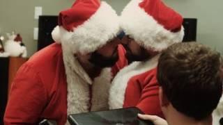 Santa Vs. Santa (short film) - Shay Carl, wheezywaiter, and Corey Vidal (Christmas 2010)
