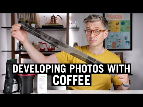 Caffenol: Developing Photos with Coffee and Vitamin C
