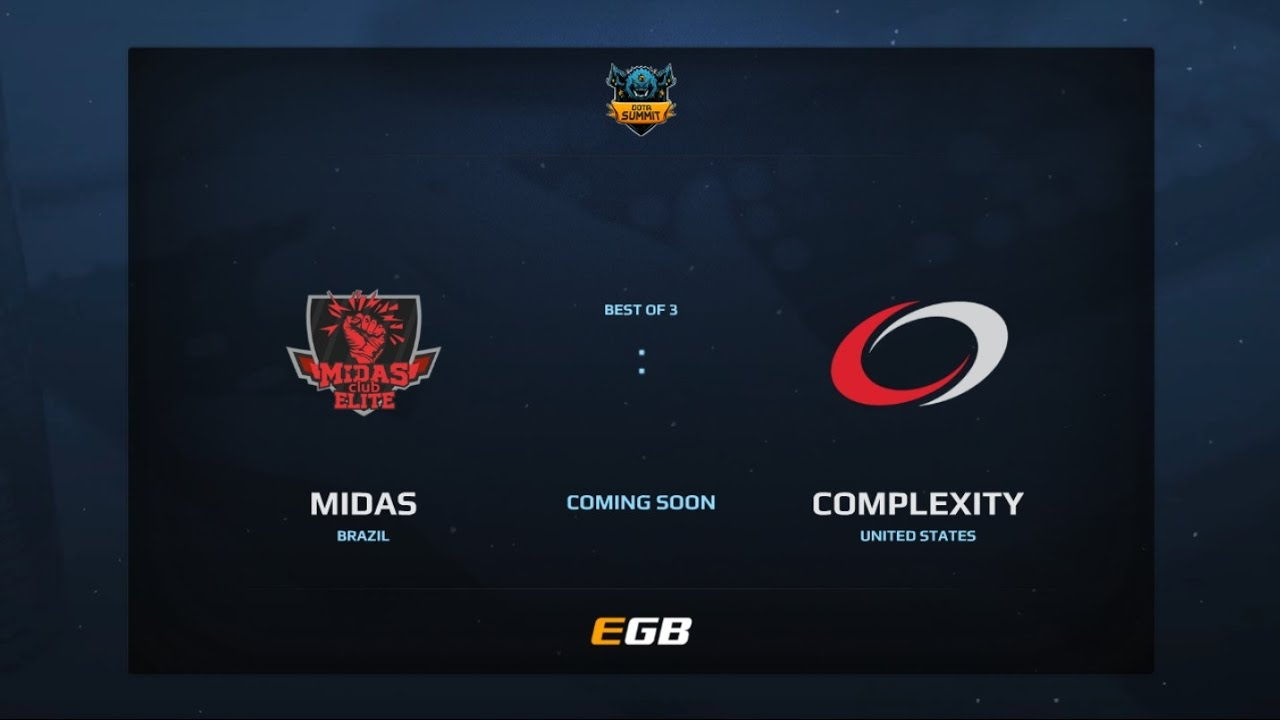 Midas Club vs compLexity, Game 2 - Part 1, Dota Summit 7, AM Qualifier