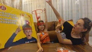Kafaya basket atmaca ,Bir garip oyuncak, eğlenceli çocuk vidosutoys unboxing ,