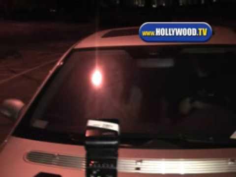 Rick Salomon and New Girl Friend Leaving Villa.