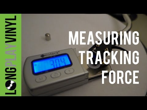Setting your stylus tracking force with a digital scale - LongPlayVinyl