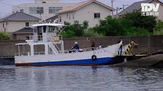 海を渡る地域の足 鳴門市・岡崎渡船
