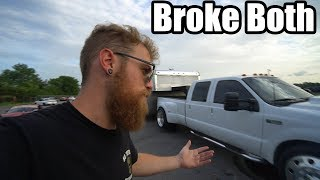 first-trip-with-the-7-3-powerstroke-on-24-s-does-not-go-well-drift-car-and-truck-issues