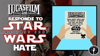 Lucasfilm Responds to TLJ Hate and Therm Scissorpunch