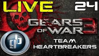 Gears of War 3 Live Gamebattles Match #24 | Team Heartbreakers (Map 2)