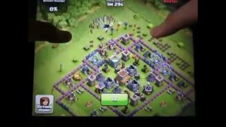 CLASH OF CLANS ATTACK JADUL 2012 CLASH OF CLANS ATTACK WITH WATERFALL
