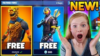 She FREAKED Out! Surprising my LITTLE SISTER with NEW FREE SKINS in Fortnite! (Fortnite Free Skins)