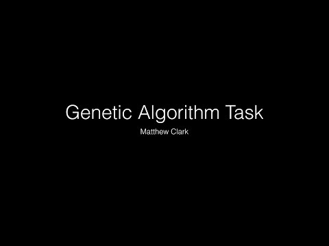 Genetic Algorithms - Explanation & Implementation