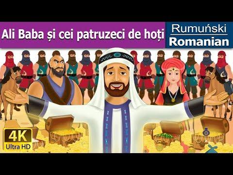 Ali Baba și cei patruzeci de hoți - Poveste de adormit copii - 4K UHD - Romanian Fairy Tales