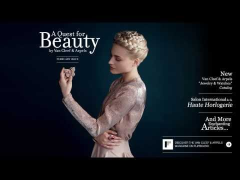 A Quest for Beauty Flipboard Magazine by Van Cleef & Arpels - February Issue