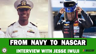 Jesse Iwuji Interview - Going from the Navy to NASCAR, sponsorship, mindset - TRDC Show S4 E33