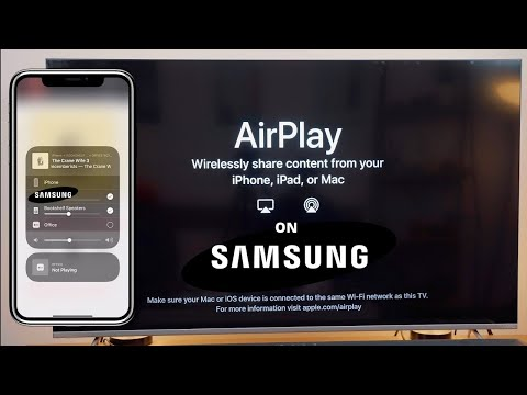 How To Use Apple Airplay On Samsung TV