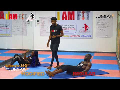 Lifestyle 360 with Jumia || Yoga session
