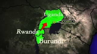 National Bank of Rwanda Africa Map