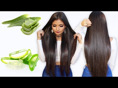 Como tener el cabello largo con sabila