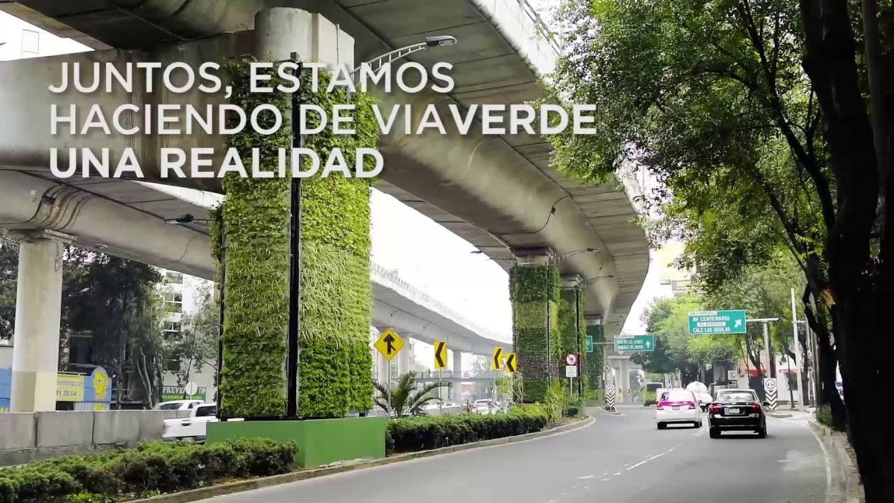 V averde el proyecto de naturaci n urbana m s grande del for Proyecto de jardines verticales