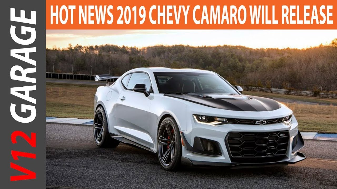 2017 Chevrolet Camaro 1Ss >> 2019 Chevrolet Camaro SS Leaked and Release Date - YouTube