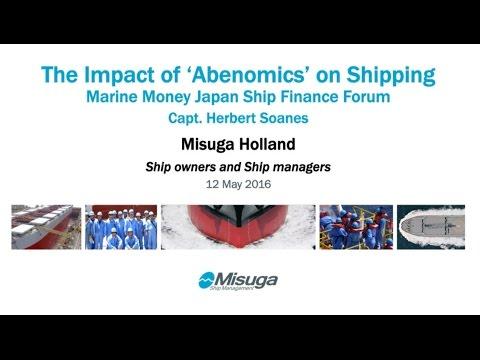 Herbert Soanes – The Impact of 'Abenomics' On Shipping