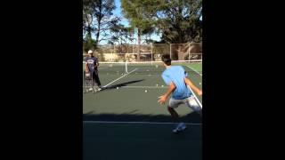 Burgos Tennis Serbian Recovery Drill