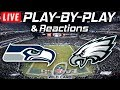 Seahawks vs Eagles | Live Play-By-Play & Reactions