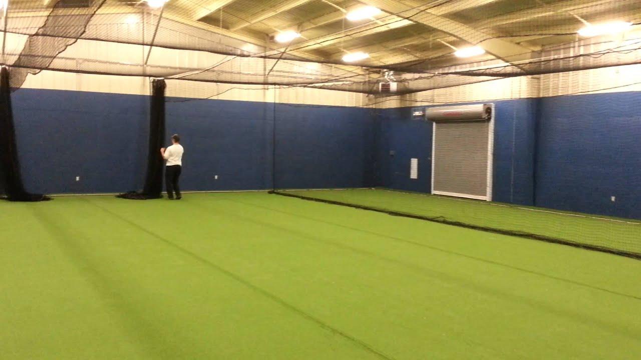 Batting Cage Installation By Kodiak Sports   YouTube