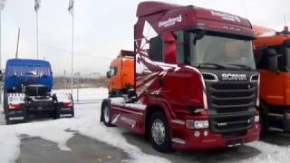 Обзор SCANIA R500 brilliant victory
