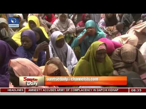 Unconfirmed Number Of Abducted Dapchi Girls Return