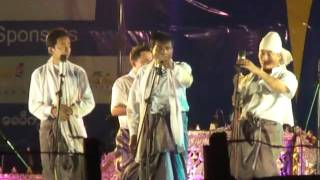 Repeat youtube video 5 Stars A Nyient Performance @ Chaung Thar Beach, Feb 2011