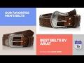 Best Belts By Ariat Our Favorites Men's Belts