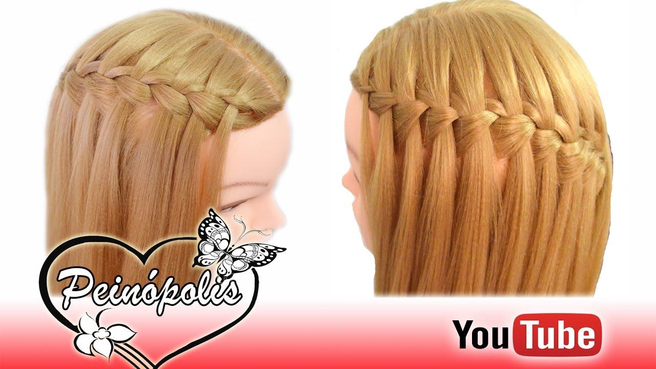 Peinados Faciles Y Rapidos Con Cabello Suelto Peinopolis Youtube