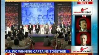 Salaam Cricket: World Cup winning captains on one platform (PT 1)